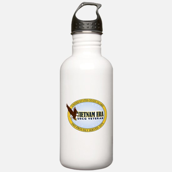 Vietnam Era Vet USCG Water Bottle