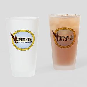 Vietnam Era Vet USCG Drinking Glass