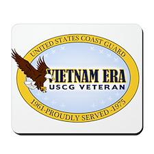 Vietnam Era Vet USCG Mousepad