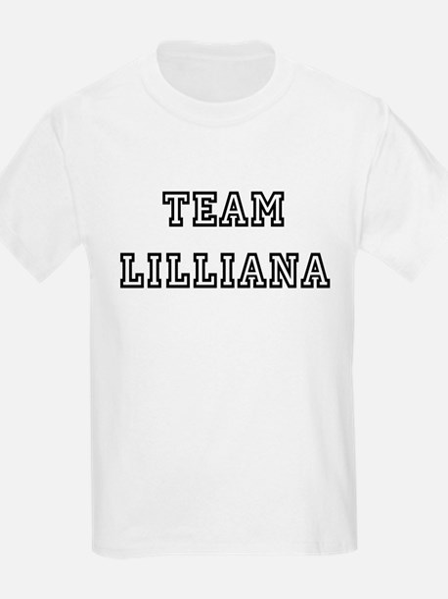 TEAM LILLIANA T-SHIRTS Kids T-Shirt
