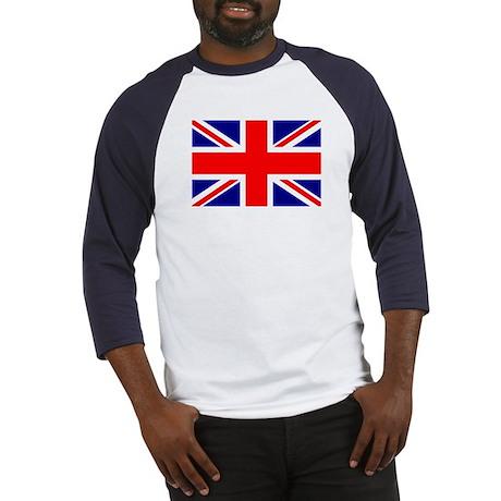 Union Jack British Flag Baseball Jersey