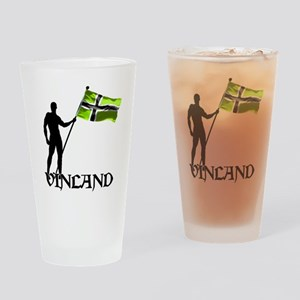 Vinland Patriot Drinking Glass