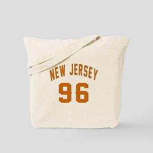 New Jersey 96 Birthday Designs Tote Bag