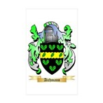 Aichmann Sticker (Rectangle 50 pk)