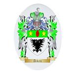 Aiken Ornament (Oval)