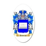 Aindrias 35x21 Oval Wall Decal