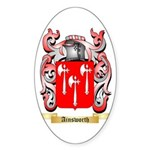 Ainsworth Sticker (Oval 50 pk)