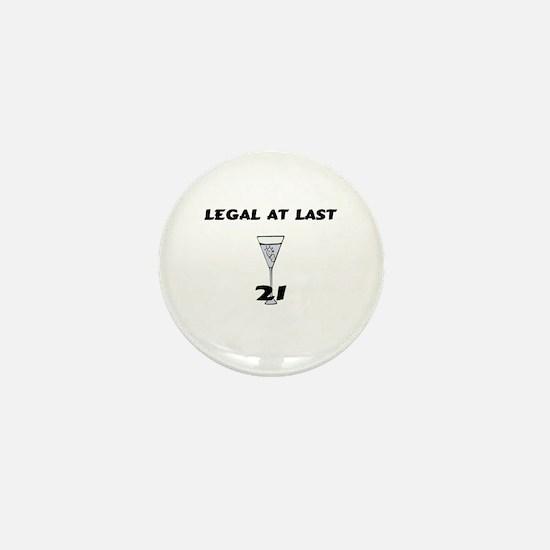 Legal At Last Mini Button