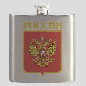 Russian Federation COA Flask