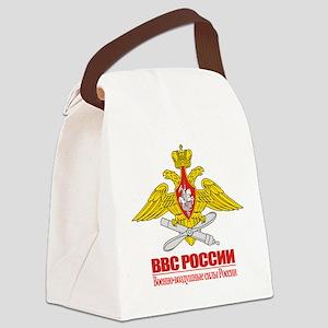 Russian Air Force Emblem Canvas Lunch Bag