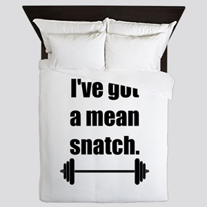 Mean Snatch Queen Duvet