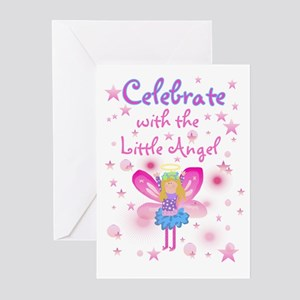 Angel theme birthday greeting cards cafepress birthday angel birthday invitations m4hsunfo