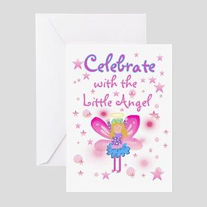 Angel theme birthday greeting cards cafepress birthday angel birthday invitations m4hsunfo