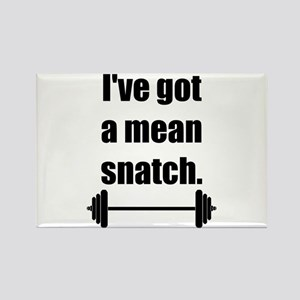 Mean Snatch Rectangle Magnet