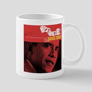 Barack Obama INDESTRUCTIBLE Jazz Album Cover Mug