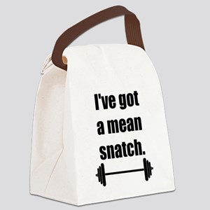 Mean Snatch Canvas Lunch Bag