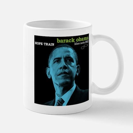 Barack Obama HOPE TRAIN Jazz Album Cover Mug