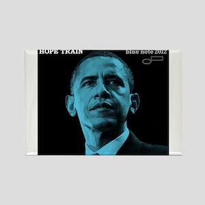 Barack Obama HOPE TRAIN Jazz Album Cover Rectangle