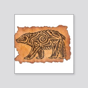 Bear Medicine Rectangle Sticker