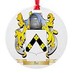 Air Round Ornament