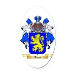 Aires Oval Car Magnet