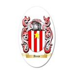 Airey 35x21 Oval Wall Decal