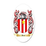 Airy Oval Car Magnet