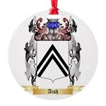 Aish Round Ornament