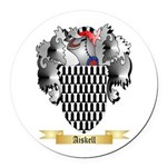 Aiskell Round Car Magnet
