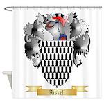 Aiskell Shower Curtain