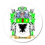 Aitchison Round Car Magnet