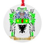 Aitken Round Ornament