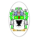 Aitken Sticker (Oval 50 pk)