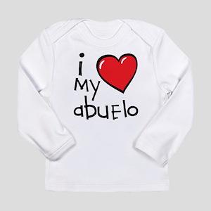 I Love My Abuelo Long Sleeve Infant T-Shirt