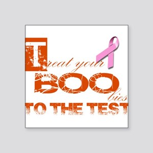 Halloween and Breast Cancer Awareness Square Stick