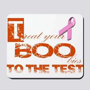 Halloween and Breast Cancer Awareness Mousepad