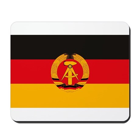 East Germany Flag Mousepad