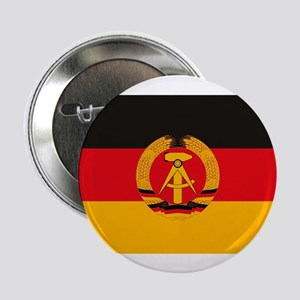 """East Germany Flag 2.25"""" Button (10 pack)"""