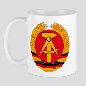 East German Coat of Arms Mug