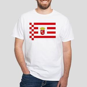 Bremen Flag White T-Shirt