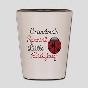 Grandma's Ladybug Shot Glass