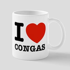 I Love Congas Mug