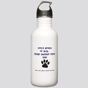 Dont Breed or Buy Stainless Water Bottle 1.0L