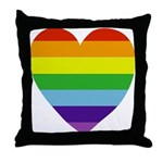 Gay Valentine Throw Pillow
