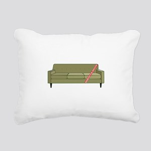 Sheldon's Spot Reserved Rectangular Canvas Pillow
