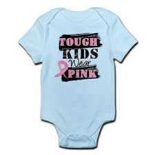Tough Kids Wear Pink Infant Bodysuit