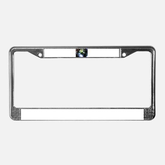 Dazzle License Plate Frame