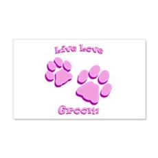 Live Love Groom Wall Decal