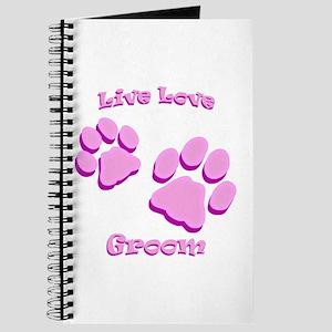 Live Love Groom Journal