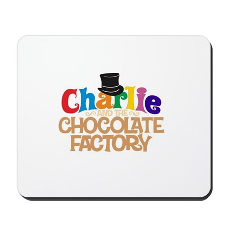 charlie and the chocholate factory Mousepad